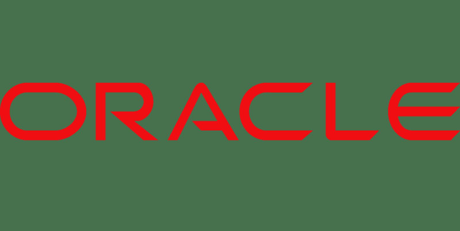 Oracle's homepage